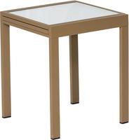 MX Alu Gartentisch BaLeWo 65 / 130 x 65 x 74 cm sandbeige
