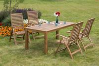 MX Gartenmöbel Paraiba Set 5tlg. FSC ® Akazienholz geölt