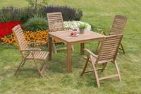 MX Gartenmöbel Paraiba Set I 5tlg. FSC ® Akazienholz geölt