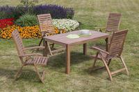 MX Gartenmöbel Paraiba Set II 5tlg. FSC ® Akazienholz geölt