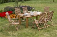 MX Gartenmöbel Paraiba Set I 7tlg. FSC ® Akazienholz geölt