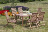 MX Gartenmöbel Paraiba Set II 7tlg. FSC ® Akazienholz geölt