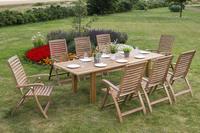 MX Gartenmöbel Paraiba Set 9tlg. FSC ® Akazienholz geölt