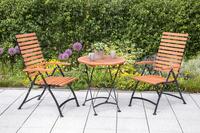 MX Gartenmöbel Schlossgarten III 3tlg. FSC ® Eukalyptusholz geölt
