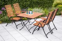 MX Gartenmöbel Schlossgarten I 5tlg. FSC ® Eukalyptusholz