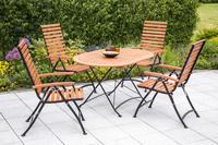 MX Gartenmöbel Schlossgarten II 5tlg. FSC ® Eukalyptusholz