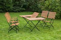 MX Gartenmöbel Schlossgarten E 5tlg. FSC ® Eukalyptusholz