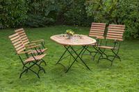 MX Gartenmöbel Schlossgarten O 5tlg. FSC ® Eukalyptusholz
