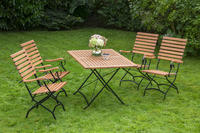 MX Gartenmöbel Schlossgarten EI 5tlg. FSC ® Eukalyptusholz