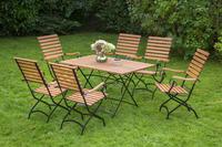 MX Gartenmöbel Schlossgarten EI 7tlg. FSC ® Eukalyptusholz geölt