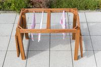 MX Gartentisch (Trockentisch) 100 x 65 cm, FSC ® Eukalyptusholz geölt