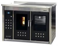 KLOVER Küchenherd Pellet wasserführend SMART 120 INOX 20,8 kW