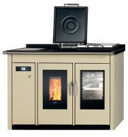 KLOVER Küchenherd Pellet wasserführend SMART 120 BT 20,8 kW Creme