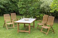 MX Gartenmöbel Paraiba 5tlg. Set FSC ® Akazienholz geölt
