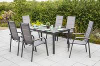 MX Gartenmöbel Set Trivero 7tlg. Aluminium