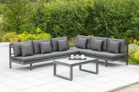 MX Multi Alu Gartenmöbel 17tlg. Artessa Set Liege und Sitzecke