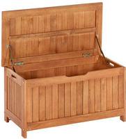 MX Auflagenbox Kissenbox 88x45x45 cm Eukalyptusholz geölt