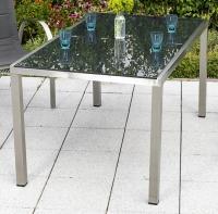 MX Gartentisch BaLeWo Edelstahl 150 x 90 cm