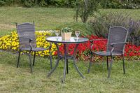 MX Gartenmöbel Tischgruppe 3tlg. Roma Set