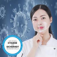 Mund Nasen Schutz Visier transparent Gesichtsschutz