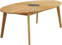 Ploss Gartentisch Dining-Tisch CHESTER 220x120cm Teak