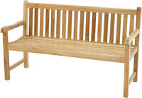 Ploss Gartenbank Landhausbank COVENTRY Teak 150x64 cm