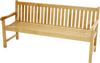 Ploss Gartenbank Landhausbank COVENTRY Teak 180x64 cm