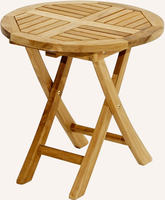 Ploss Gartentisch Beistelltisch TENNESSEE Teak 50cm