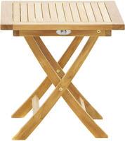 Ploss Gartentisch Beistelltisch TENNESSEE Teak 50x50 cm