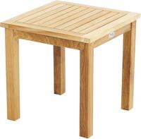 Ploss Gartentisch Beistelltisch TENNESSEE I Teak 50x50 cm