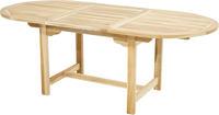 Ploss Gartentisch Auszugstisch LOUISIANA ECO Teak 150-210cm