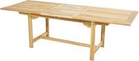 Ploss Gartentisch Auszugstisch NASHVILLE ECO Teak 180-240 cm