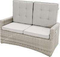 Ploss Gartenmöbel 2-Sitzer Lounge-Sofa SAHARA COMFORT Polyrattan-Geflecht