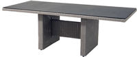Ploss Gartentisch Dining-Tisch VIGO Polyrattan-Geflecht