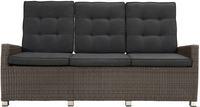 Ploss Gartenmöbel 3-Sitzer Lounge-Sofa ROCKING® COMFORT Polyrattan-Geflecht