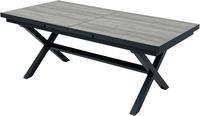 Ploss Gartentisch Auszugs-Dining-Tisch XL LA GOMERA 200/260x101cm