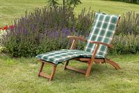 MX Gartenliege Deckchair Set 2tlg. Eukalyptusholz