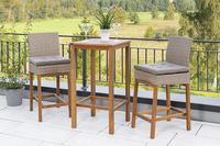 MX Gartenmöbel 5tlg. Barset 2 Barstühle