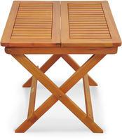 IN Holztisch Beistelltisch Sun Flair Eukalyptus 50x50cm