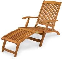 IN Gartenliege Deck Chair Sun Flair Eukalyptus