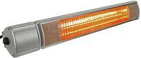 IN Heizstrahler 2000W Infrarotheizer Fernbedienung reduzierter Lichtstärke Wandmontage